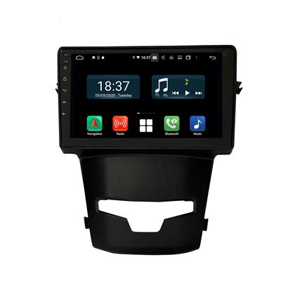 KLYDE Android 10 Auto Receiver Car Navigation Player For SsangYong Korando 2014-2015