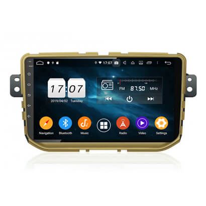 KLYDE KD-1944 Android 10 Car Radio Subwoofer Multimedia DVD Player for Haval H2 2014-2017