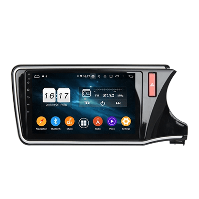 KLYDE KD-1953 Android 10.0 Car Video Player with GPS Steering Deckless Wheel Control for CITY 2015-2019 RHD